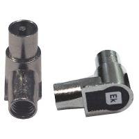 SPINA COAX IEC 9,5mm AD ANGOLO