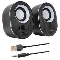 CASSE USB 6W 3,5mm JACK C/VOLUME