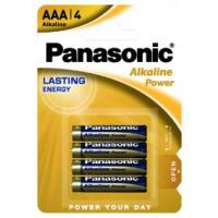 PILA AAA ALK.POWER PANASONIC BL.4