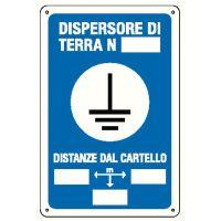 CARTELLO DISPERSORE DI TERRA