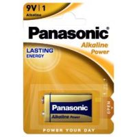 PILA 9V ALK. POWER PANASONIC BL.1