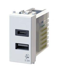 PRESA USB 3.0A COMP.VIMAR PLANA