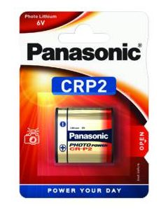 PILA LITIO 6V PANASONIC CRP2 BL1