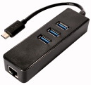 SCHEDA USB3.1 C GIGABIT + 3HUB