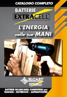 Extracell - Batterie ricaricabili Compatibili -